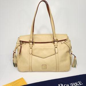 Dooney & Bourke Florentine Leather Bone Smith Bag